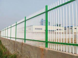 双横路锌钢护栏